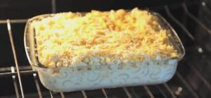 macaroni cheese bake